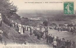 Puy-de-Dôme - Chatelguyon - Un Rallye-Paper Sur Le Plateau Du Château De Chazeron - L'arrivée Du Cerf Tant Convoité - Châtel-Guyon