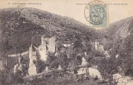 Puy-de-Dôme - Ruines De La Chartreuse Du Port Sainte-Marie - Frankreich