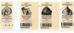 PIA - DANIMARCA -1998 : Fossili E Geologi Danesi  - (Yv 1199-1201 ) - Danimarca