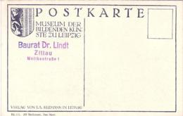 """1940ca.-""""Germania Postkarte Museum Der Bildenden Kunste Zu Leipzig"""" - Allemagne"""