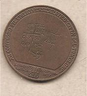 Italia - Medaglia In Bronzo: XII° Convegno Numismatico Reggio Emilia - 9° Centenario Matilde Di Canossa - 1977 - Italia