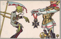 1920ca.-Cartolina Patriottica Umoristica Non Spedita - Militaria