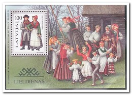 Letland 1997, Postfris MNH, Costums - Letland