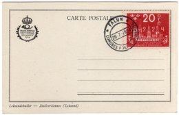 Suede Sverige 1924 VIII UPU Congress Stockholm Special Postcard Cancel Falun - UPU (Unione Postale Universale)