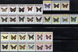 Philippines - 2007 - Butterflies - Mint Definitive Stamp Set - Filipinas