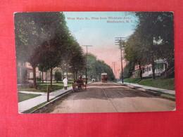 West Main Street  Trolley   --   Middletown  New York --   Ref 3166 - NY - New York