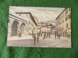 VINTAGE ITALY: Portoferraio Piazza Cavour Tint Caruso - Italia