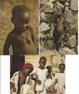 Lot De 3 CPM Enfants Du Cameroun - Cameroun