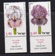 ISRAEL, 1978, Unused Hinged Stamp(s), With Tab, Wild Irises, SG741=743, Scannr. 17491 - Israel