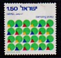 ISRAEL, 1976, Used Stamp(s), Without Tab, Camping, SG639, Scannr. 17466, - Israel