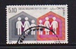 ISRAEL, 1978, Used Stamp(s), Without Tab, Social Welfare, SG727, Scannr. 17487, - Israel