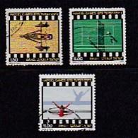 ISRAEL, 1979, Used Stamp(s), Without Tab, Hapoel Games, SG753-755, Scannr. 17494, - Israel