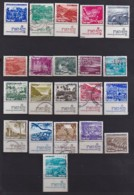 ISRAEL, 1971, Used Stamp(s), Without Tab, Landscapes, SG493=510, Scannr. 17444, 21 Values Only - Israel
