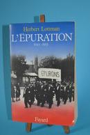 L'épuration - 1943 / 1953 - Herbert Lottman - Livres