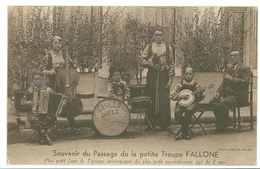 Souvenir Du Passage De La Petite Troupe FALLONE..... - Musique Et Musiciens