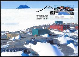 Australia/Australie: Intero, Stationery, Entier, Base Antartica Australana, Australian Antarctic Base, Base Antarctique - Basi Scientifiche
