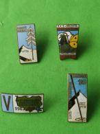 4 PNCKS POLACCHI ANNI 1960/1970 2° - Gettoni E Medaglie