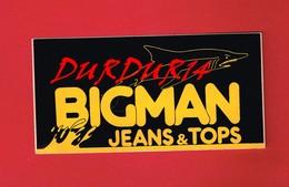 1 Autocollant  BIGMAN JEANS & TOPS - Autocollants