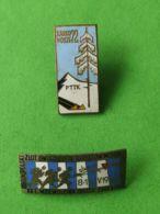2 PNCKS POLACCHI ANNI 1960/1970 5° - Gettoni E Medaglie