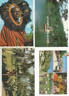 Lot De 4 CPM Divers Pays - Cartes Postales