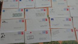 63 PAP Réponse Neufs, Dont Beaujard, Luquet;Ciappa Et Kawena,Lamouche En 38 Modèles Différents - Postwaardestukken