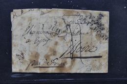 FRANCE - Cursive De Néris Montlucon Sur Lettre Pour Issoire En 1829 - L 23164 - 1801-1848: Precursors XIX