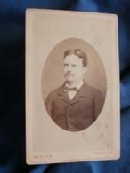 Photo CDV  Roth à Thionville  Portrait Homme (Auguste Saur)  CA 1880 - L425A - Anciennes (Av. 1900)