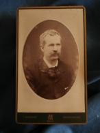 Photo CDV Marmand à Metz  Portrait Homme (Oncle Paul Saur  Banquier) CA 1885-90 - L425A - Anciennes (Av. 1900)