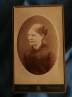 Photo CDV Marmand à Metz  Portrait Femme (Tante Paul Saur Née Salmoy Mère De Gabrielle Spire) CA 1885-90 - L425A - Anciennes (Av. 1900)