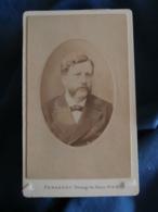 Photo CDV Penabert Passage Du Havre Paris  Portrait Homme (Francis Saur) CA 1880-85 - L425A - Anciennes (Av. 1900)