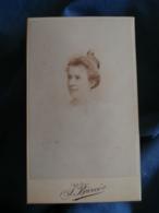 Photo CDV Barco à Nancy Portrait Femme (Mme Spire Née Gabrielle Saur) CA 1895 - L425A - Anciennes (Av. 1900)