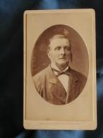 Photo CDV Léopold Dubois Paris  Portrait Homme (Oncle Lahaye Côté Julienne) CA 1880-85 - L425A - Anciennes (Av. 1900)