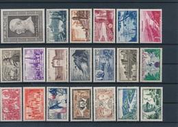 FRANCE - LOT DE 20 TIMBRES NEUFS** SANS CHARNIERE - COTE YT : 31€ - 1941/55 - France