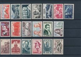 FRANCE - LOT DE 19 TIMBRES NEUFS** SANS CHARNIERE - COTE YT : 19€30- 1944/59 - France