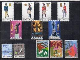 Malta - 1988 - Lotto 12 Francobolli (4 Serie Complete) - Nuovi - Vedi Foto - (FDC14217) - Malta