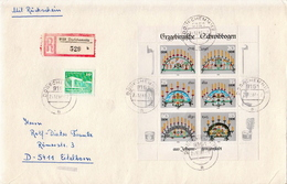 Germany / DDR Sheetlet On R Cover - Celebrations