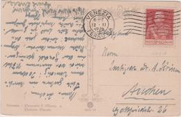 Italy 1926 Cartolina From Venezia To Wien - 1900-44 Vittorio Emanuele III