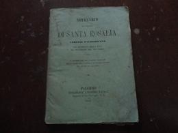 NOVENARIO IN ONORE DI SANTA ROSALIA VERGINE PALERMITANA-1884 - Altri