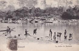 COTE D IVOIRE / SOUVENIR DE TIASSALE / LA RIVIERE DE BANDAMA - Côte-d'Ivoire