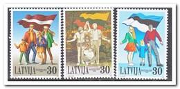 Letland 1999, Postfris MNH, Flag - Letland