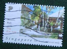Painting Resort, Bali (Tableau De Kim Seng) 2004 Mi 1313 YT 1230 Used Gebruikt Oblitere SINGAPORE SINGAPUR - Singapur (1959-...)
