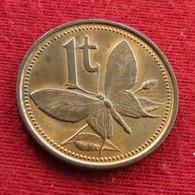 Papua New Guinea 1 Toea 1978 KM# 1  Papuasia Nova Guine Nuova Guinea Papouasie Nouvelle Guinee - Papuasia Nuova Guinea