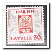 Letland 1998, Postfris MNH, Stamp On Stamp - Letland
