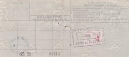 T.F. Automobiles N°122 Sur Carte Grise - Revenue Stamps