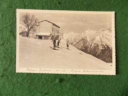 VINTAGE ITALY: Rifugio Pialeral Skiing B&w 1942 - Italia