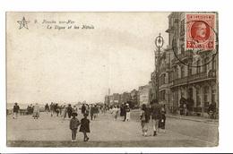 CPA - Carte Postale - Belgique-Knocke - La Digue Et Les Hôtels-1920- VM638 - Knokke