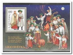 Letland 1998, Postfris MNH, Costums - Letland
