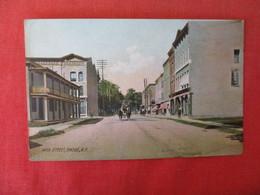 Rotograph Main Street   Owego  - New York      Ref 3166 - NY - New York