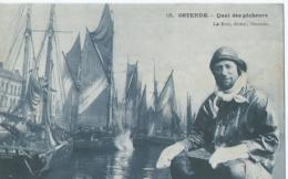 Oostende - Ostende - 138 - Quai Des Pêcheurs - Le Bon éditeur Ostende - 1907 - Oostende