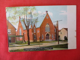Congregational Church     Owego  - New York      Ref 3166 - NY - New York